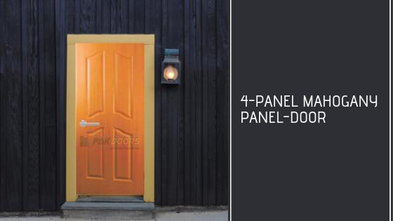 4-Panel_mahogany_door_design