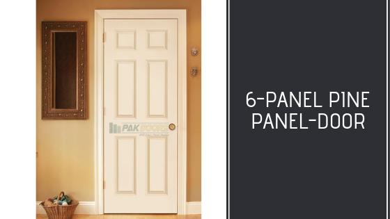 6-panel_Pine_Door_Design