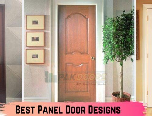 8 Most Common Panel Door Designs in Pakistan