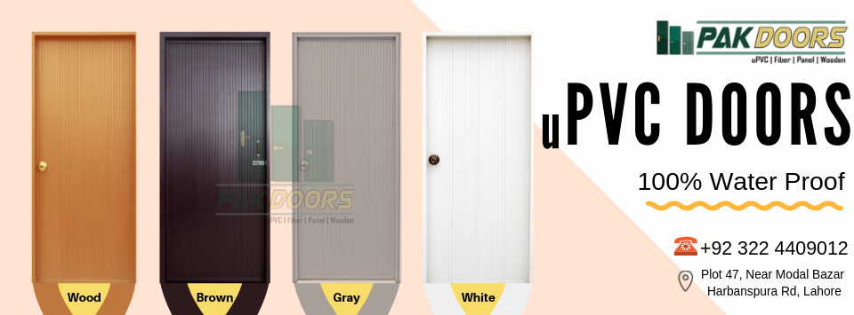 pvc door price in pakistan