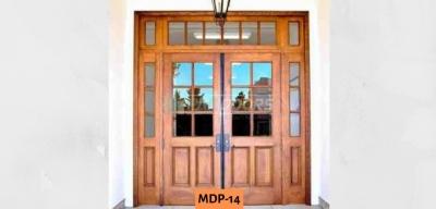 Glass + Wooden Door Design