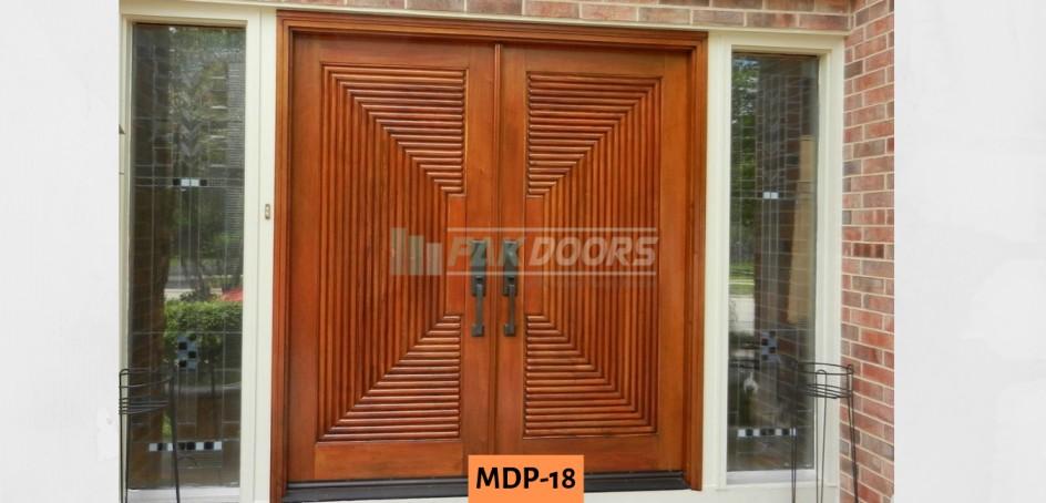 Carving Beding Door Design