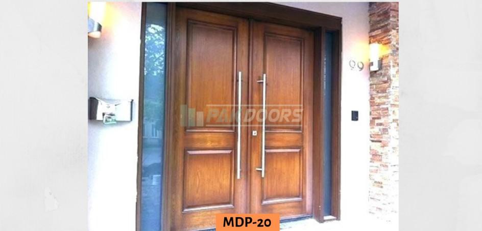 Double Door Side Glass Door Design