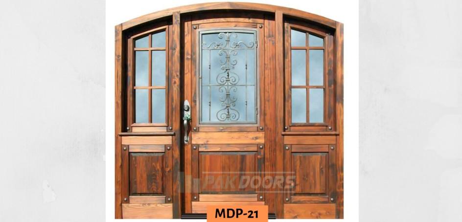 Carved Main Entrance Door Design