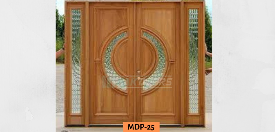 Round Glass Main Entrance Door Design