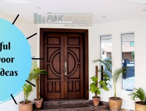 Wooden Main Entrance Door Designs (Pakistani)