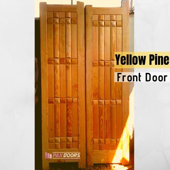 Yellow_Pine_Door
