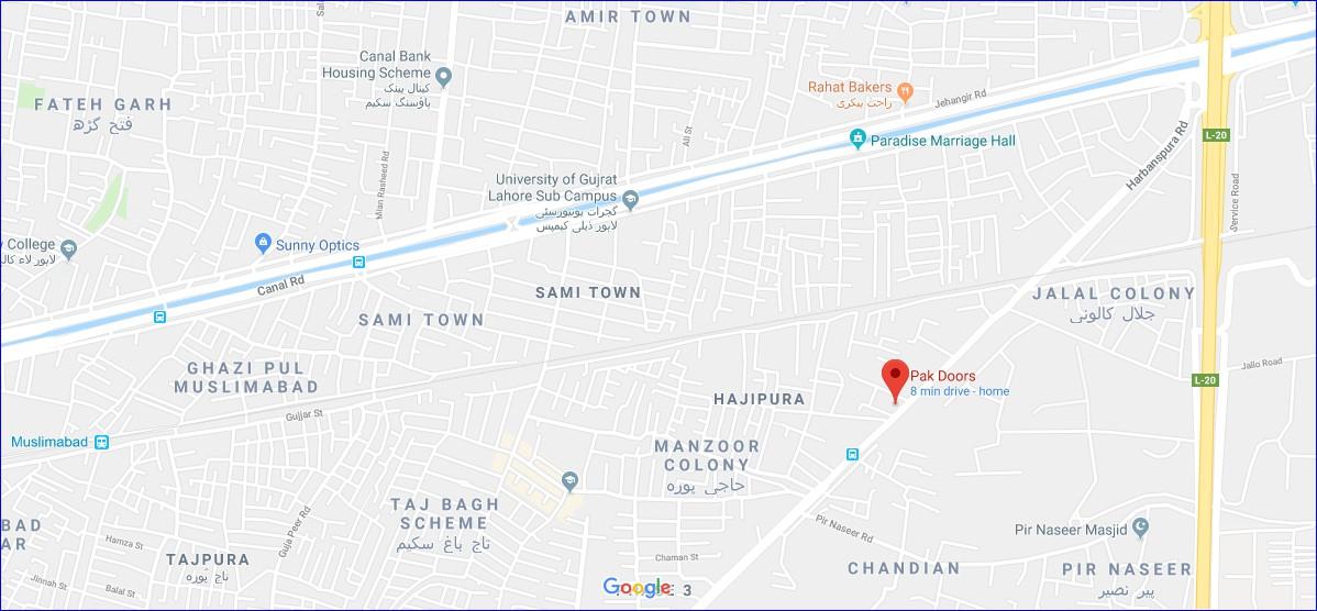 pakdoors-google-maps